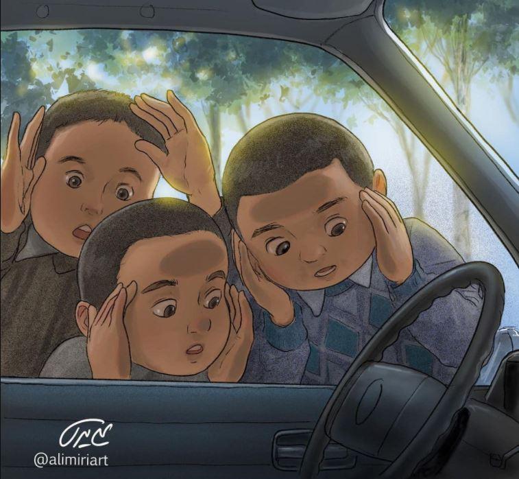 نقاشیهای نوستالژی با طرفدارانی فراتر از ایران