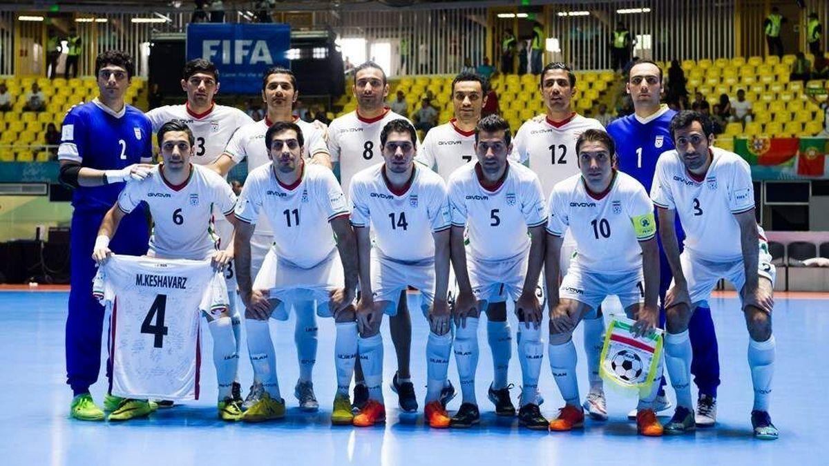 خبری مهم از تیم ملی فوتسال ایران در مرحله حذفی جام جهانی