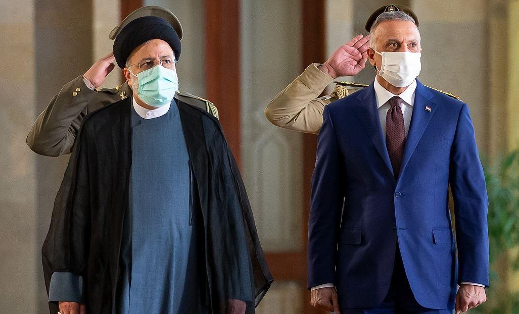 استقبال رسمی رییس جمهور از نخست وزیر عراق