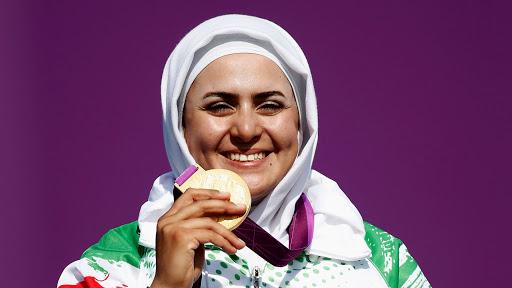 کسب نهمین طلای کاروان توسط زهرا نعمتی
