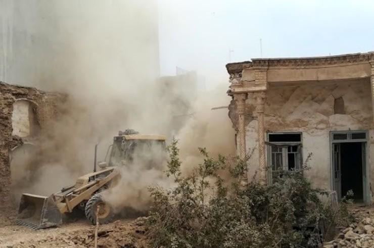 تخریب خانه زن بیپناه بلوچ