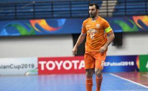 بدشانسی تیمملی فوتسال در آستانه بازی با قزاقستان