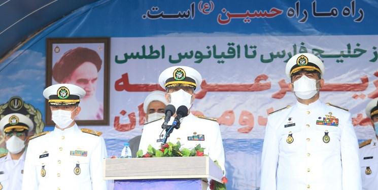 فرمانده کل ارتش: اقدام راهبردی نیروی دریایی ارتش، مستکبران را دچار ابهام راهبردی کرد