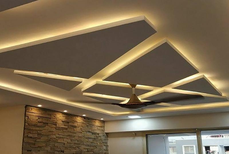 کناف بهتر است یا گچبری سقف پیش ساخته؟