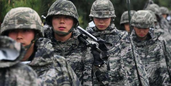 سربازی در یک کشور پیشرفته صنعتی!
