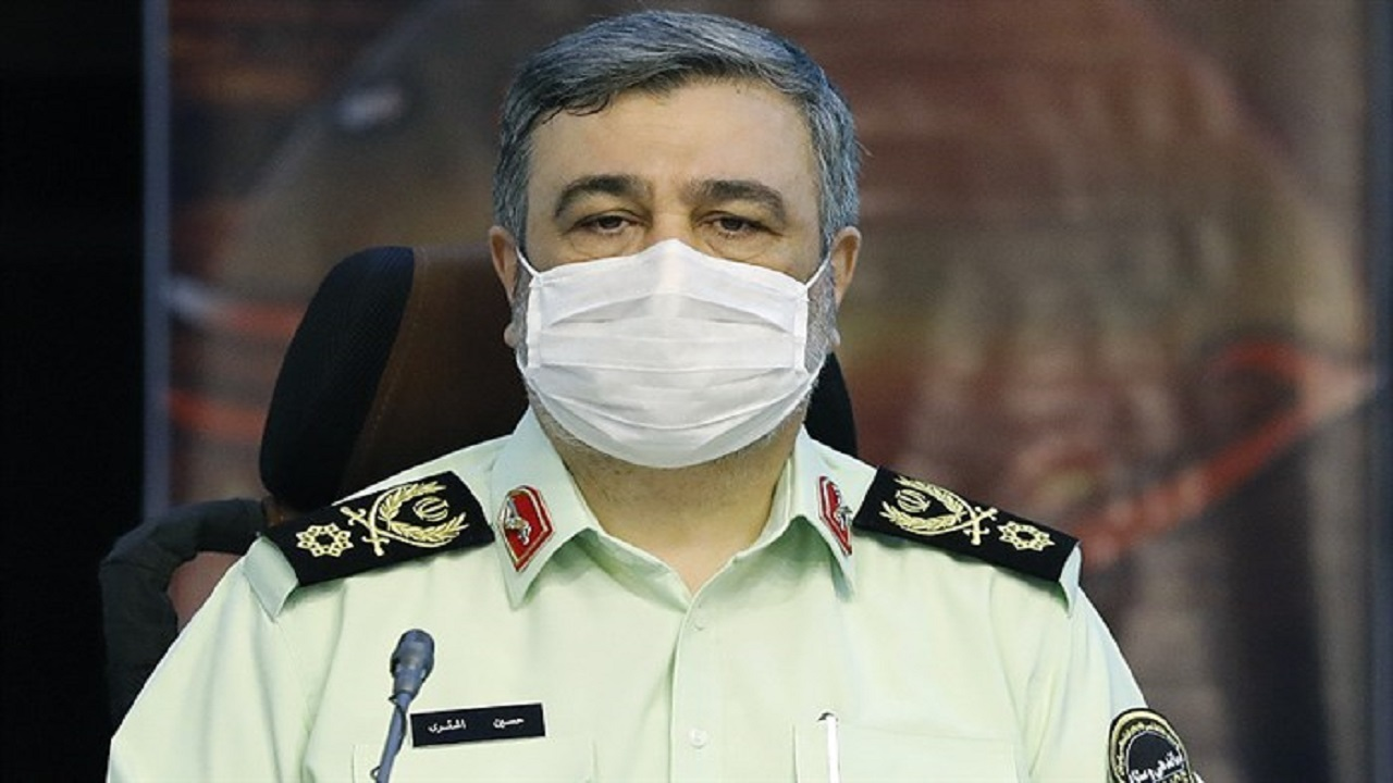واکنش فرمانده ناجا به فیلم منتشر شده بازداشت خانمی در فضای مجازی