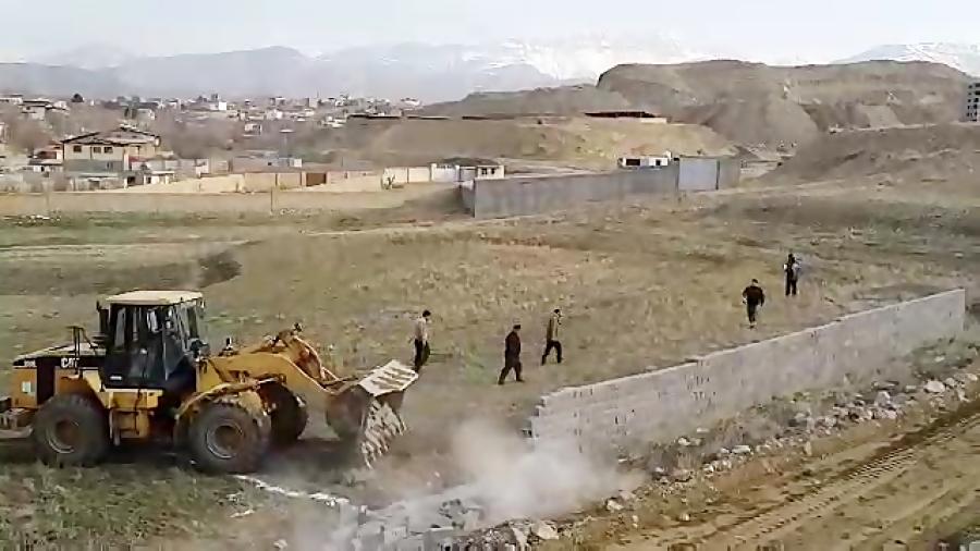۷ هکتار از اراضی ملی رودهن به ارزش ۷ هزار میلیارد ریال رفع تصرف شد