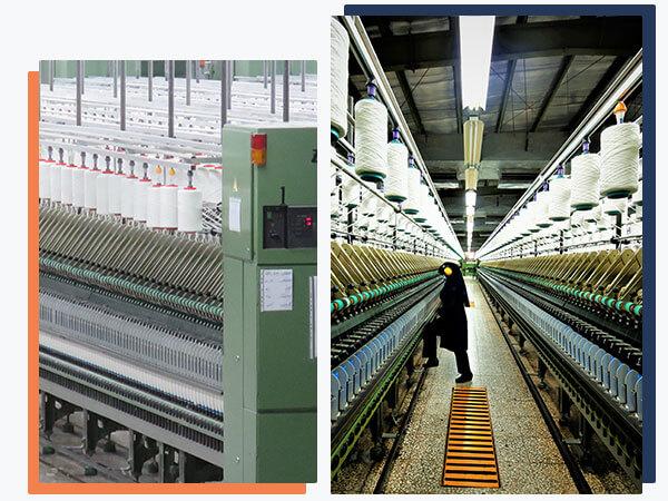 کارخانجات فاستونی آسیا از بزرگان تولید نخ و پارچه
